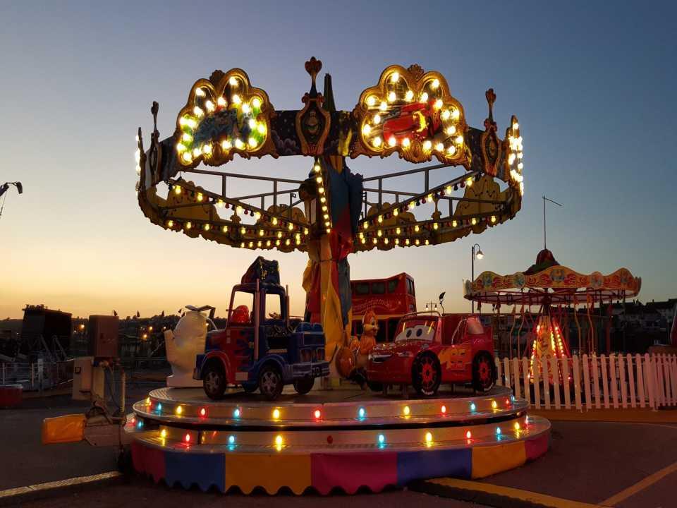 Fairground Led Lamp rgb