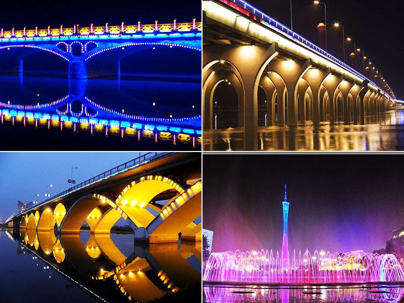 colorful led flood light