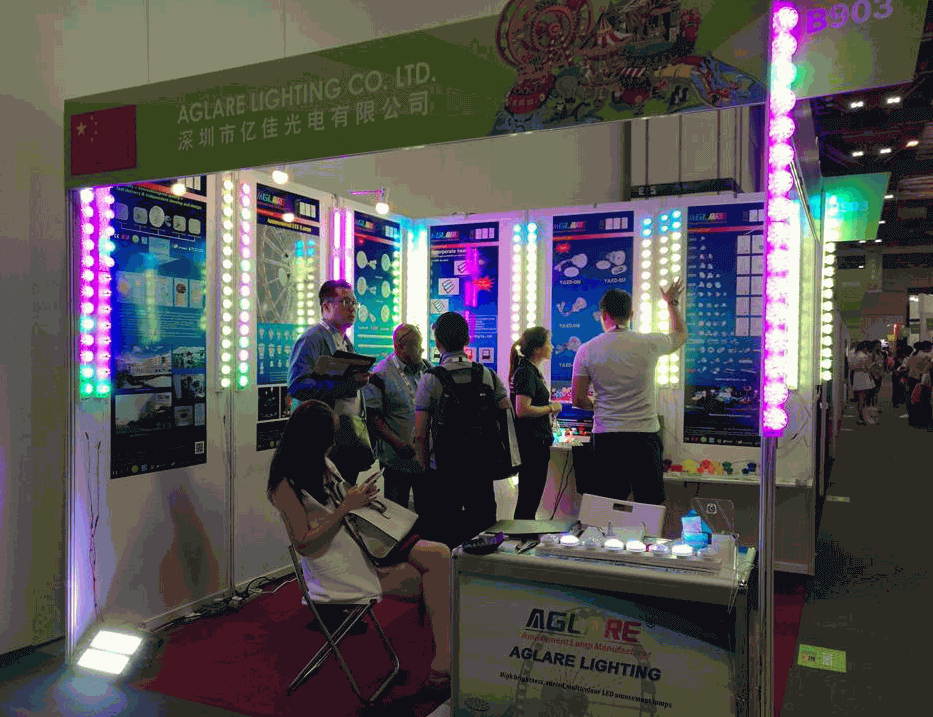 Congratulations!   We success on  2017 IAAPA Show in Singapore