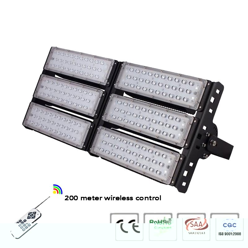 remote control 300w RGB led flood light