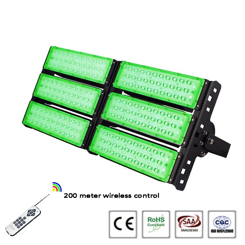 Outdoor remote control 300w RGB led flood light