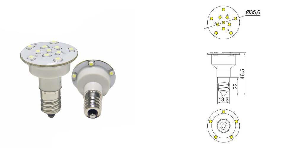 auto running amusement led lighting 36mm