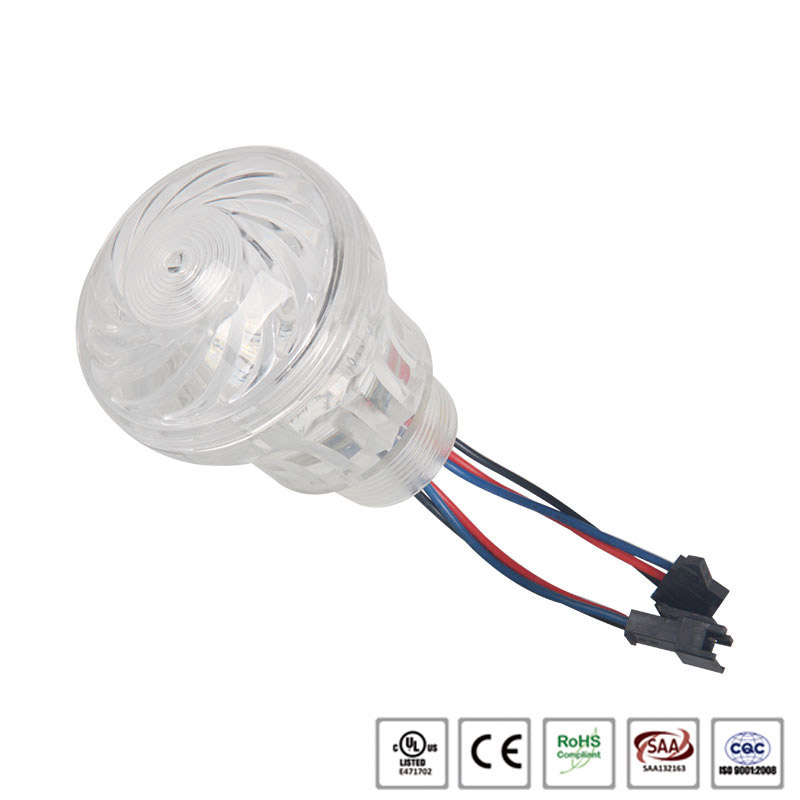 Waterproof IP65 12/24V 5050 led amusement light with housing
