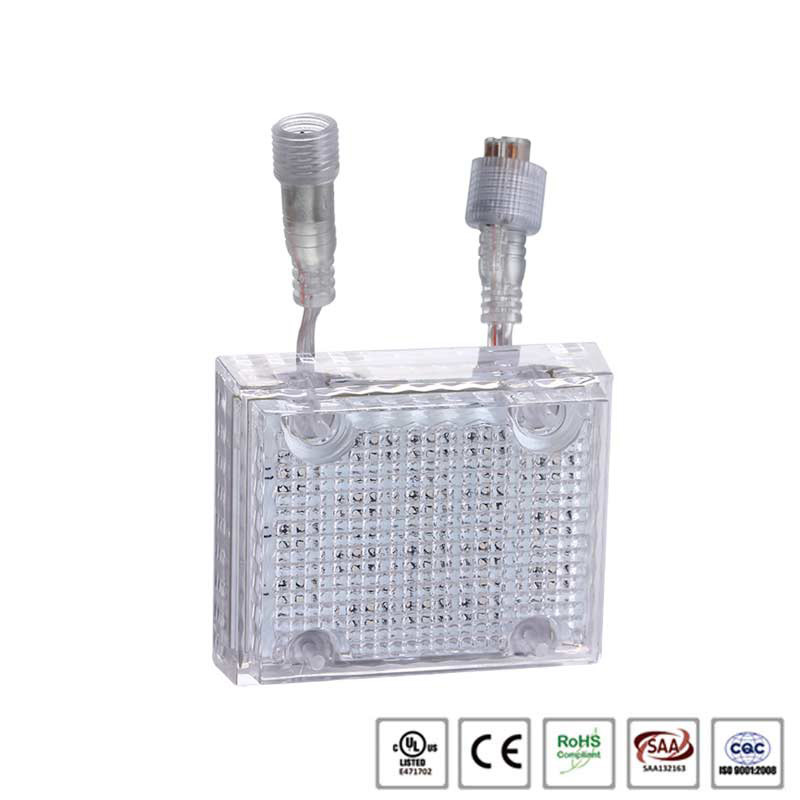 High quality DC24V 18leds UCS1903 addressable square led point light