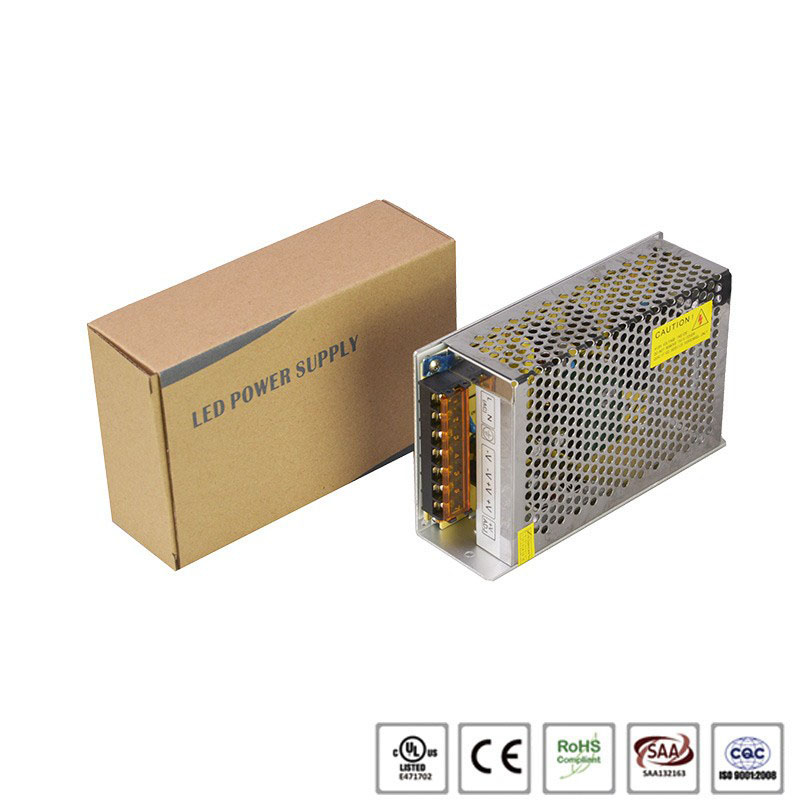 DC 12/24V 12.5A 150W led switching power supply