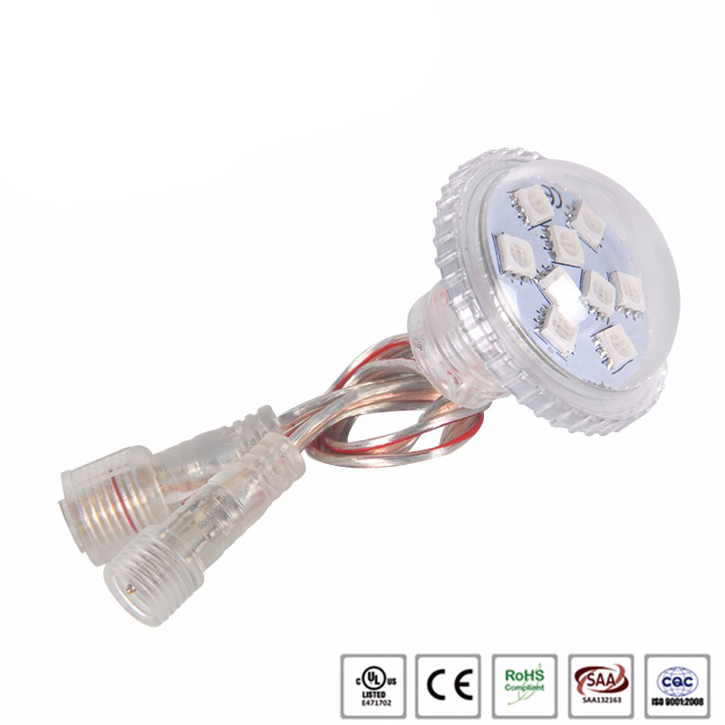 Waterproof rgb led pixel light