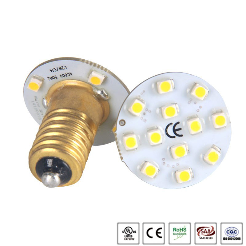 Hot selling led single color 3528 SMD E14 Amusement Led Rides light