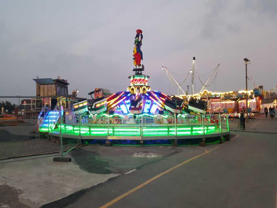 led pixel amusement light rgb