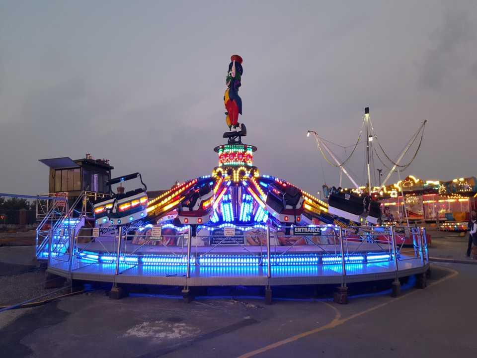 auto running amusement light e14