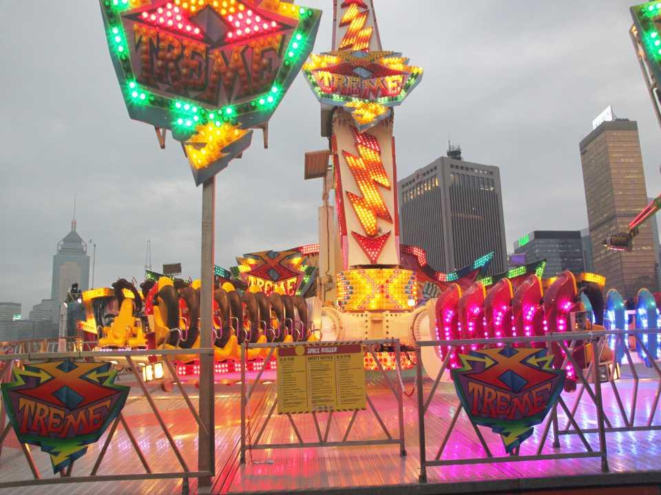 Auto RGB amusement light outdoor