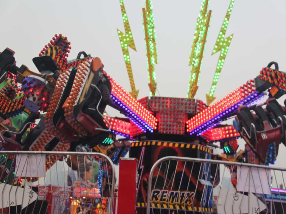 E14 single color amusement park light