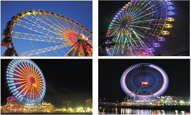 fun RGB amusement led lighting