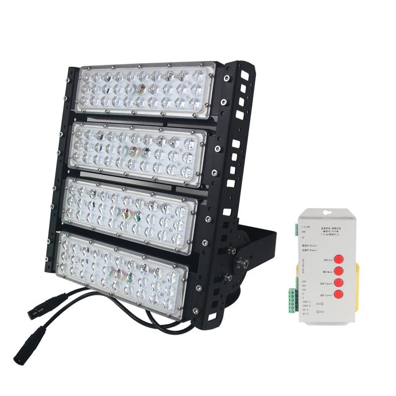IP65 outdoor 100w 200w 300w 400w 500w high lumen dmx rgb led flood light