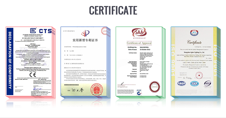 Certified LED lighting from China