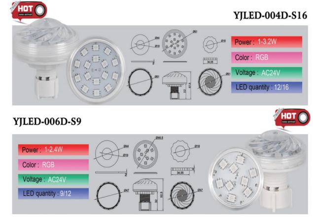 automatic RGB led lights