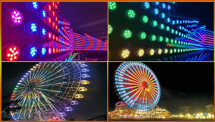led amusement lighting