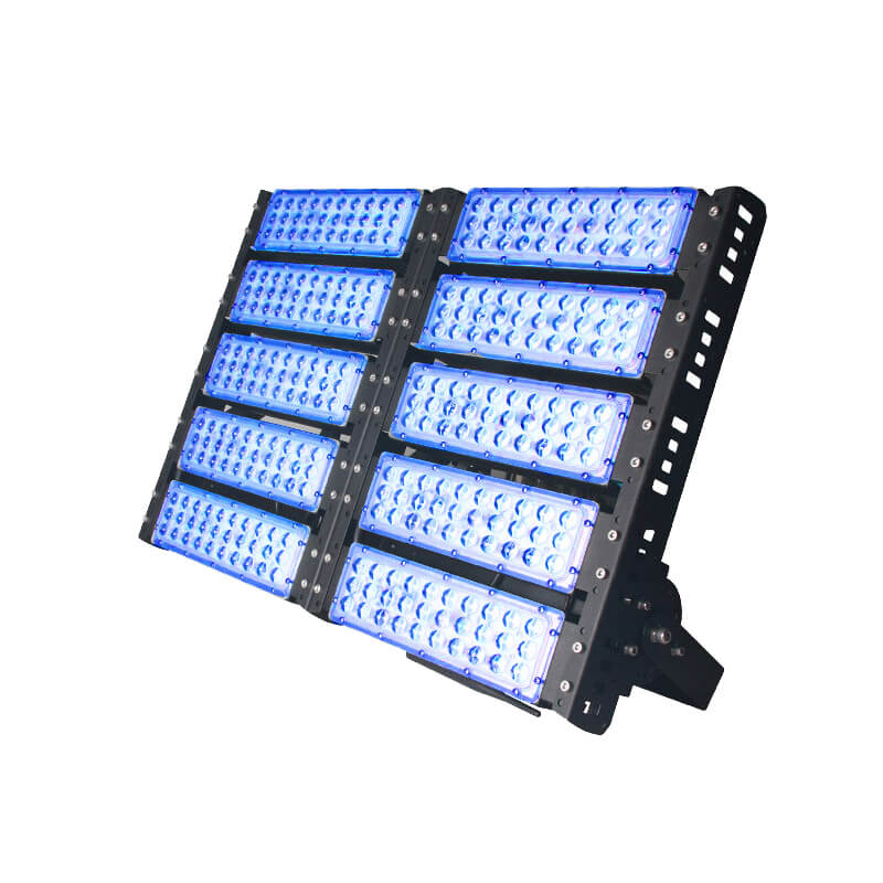 500w color led flood light