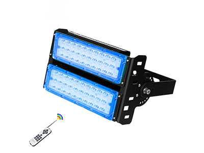 The installation instructions for a 100w rgb led flood light are very important