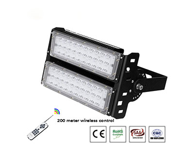 LED rgb flood lights come in a variety of colors