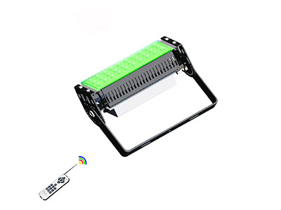 What are the main USES and features of rgb flood light?